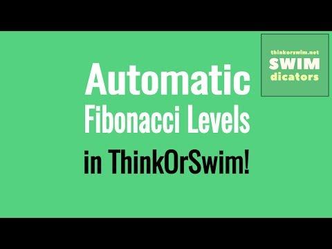 Auto Fibonacci Retracement & Extension Levels in ThinkOrSwim