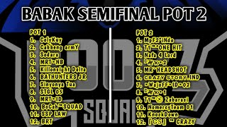 SEMIFINAL POT 1 DAN 2 TURNAMENT ONLINE NB LIKE, SHARE, AND SUBSCRIBE