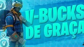 FREE V-BUCKS GIVEAWAY AT FORTNITE!! (SEASON 6)