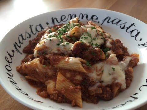 Easy Slow Cooker Chilli Pasta