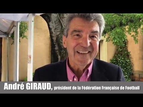 André Giraud, président de la Fédération Française dAthlétisme