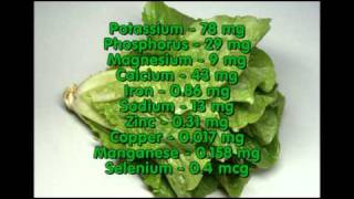 Healthy life, vegetable nutrition facts