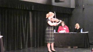2015 U.S. National Scottish Fiddle, 2nd  place Meredith Hudock Air
