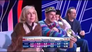 Шоу Ледниковый период 2013  14 й выпуск  Оксана Домнина и Владимир Яглыч   08 12 2013