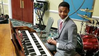 Moments with the 16 year old organist from Martinsville,  VA, Chas Whitfield