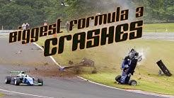 The BIGGEST Formula 3 CRASHES of recent years ( #Crashes #Formula3 )