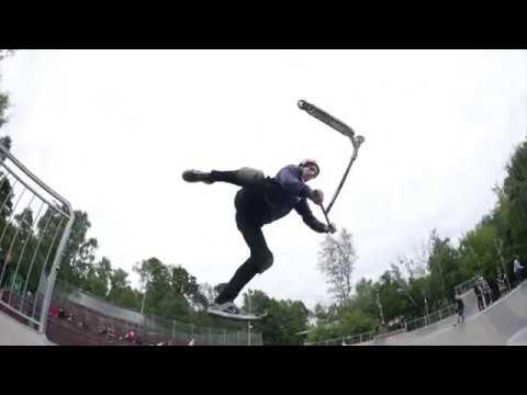 Artem Ushakov \ Welcome To WheelCity \ Scootering