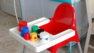 Высокий стульчик для кормления - наш выбор(Высокий стульчик для кормления необходимая вещь для любого малыша. Мы долго выбирали стульчик и остановили..., 2014-08-22T08:57:16.000Z)