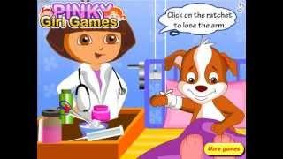 Dora Pet Doctor (Даша-ветеринар лечит животных) - прохождение игры