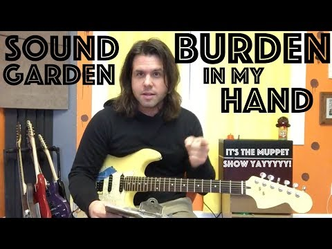 Guitar Lesson: How To Play Burden In My Hand  Soundgarden