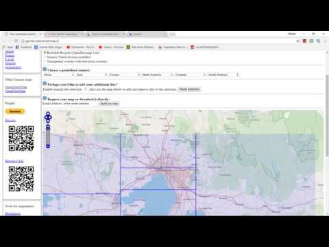 HOW TO DOWNLOAD FREE GARMIN MAPS FOR GARMIN GPS - YouTube Download Garmin Maps Free on
