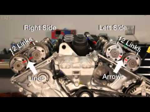 Chrysler Pentastar V6 Engine 3 0L 3 2L 3 6L Camshaft Phaser Removal