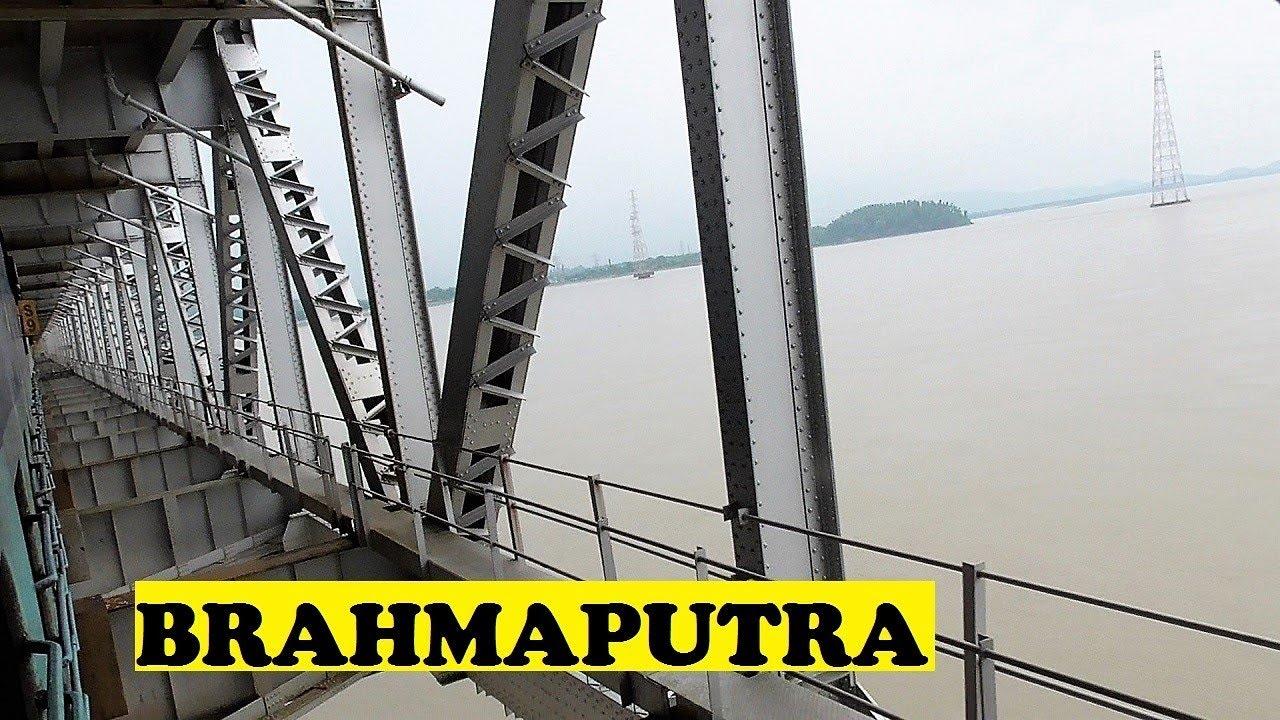 SC Kamakhya Crosses 2.2 KM Mighty Brahmaputra River ...  SC Kamakhya Cro...