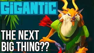 Gigantic Gameplay: The Next Big Thing?? (Awesome New Multiplayer PC/XB1 Game!!)
