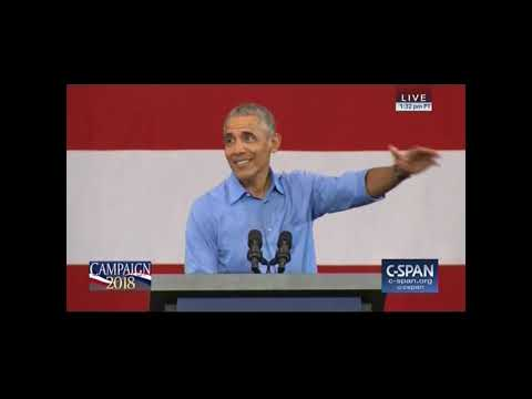 CSPAN 10 26 2018 President Obama slams Republican lies in Milwaukee, Wisconsin