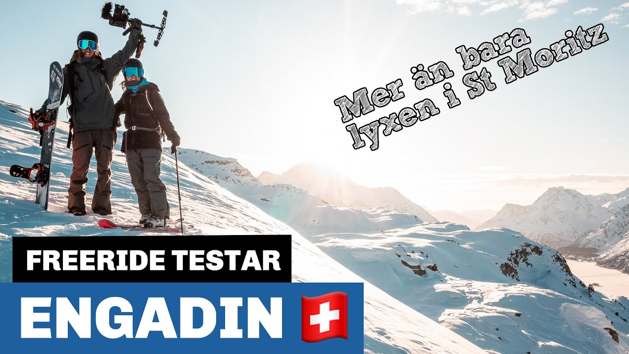 Freeride testar: Engadin