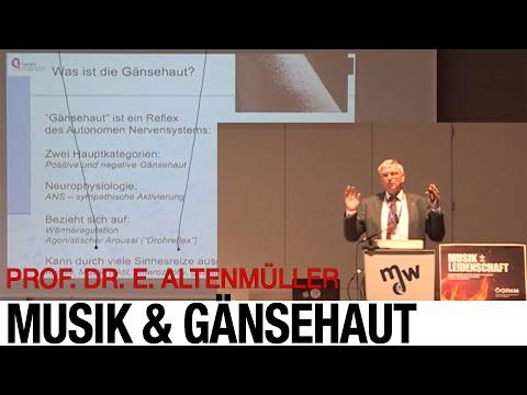 Musik und Gänsehaut - KeyNote Vortrag Prof. Dr. Eckhart Altenmüller