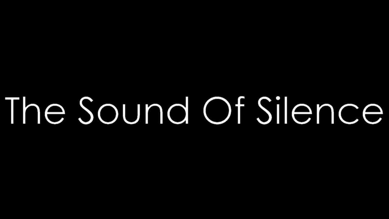 Image result for sound of silence lyrics