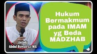 Bolehkah Bermakmum Pada Imam yang Berbeda madzhab? - Ustadz Abdul Somad Lc MA terbaru