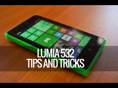 Lumia 532 Tips and Tricks