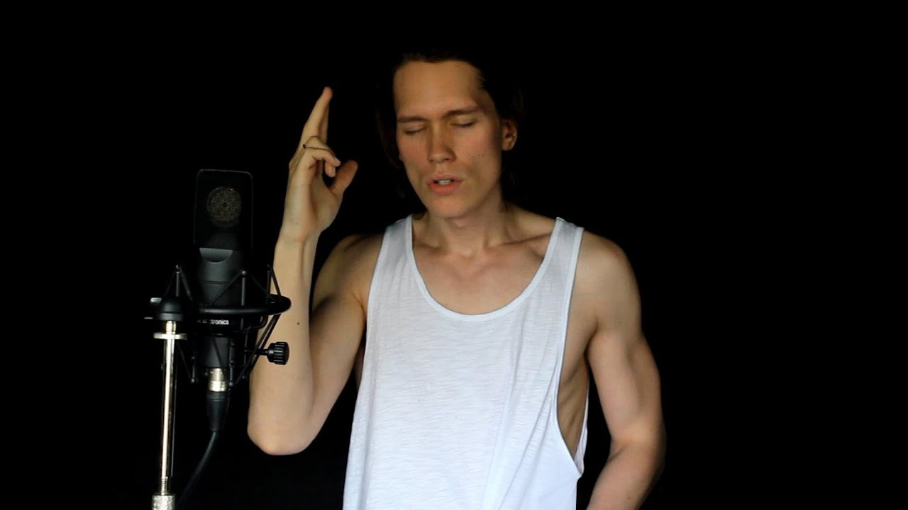 SIA - CHANDELIER (METAL COVER) - YouTube