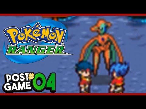 Pokemon Ranger Post Game Part 4 DEOXYS FORMS! Gameplay Walkthrough