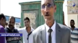 بالفيديو والصور.. تشغيل موقف سيارات الأقاليم بحي المروة بالوادي الجديد