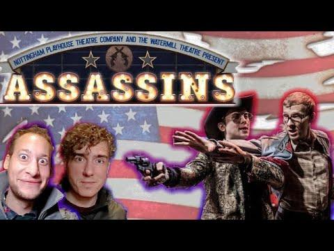 Assassins Review Nottingham Playhouse Stephen Sondheim
