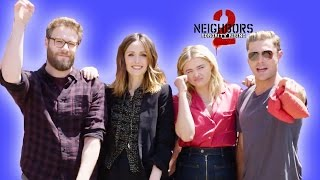The Cast of Neighbors 2 Surprises Tourists // Presented by BuzzFeed & Neighbors 2