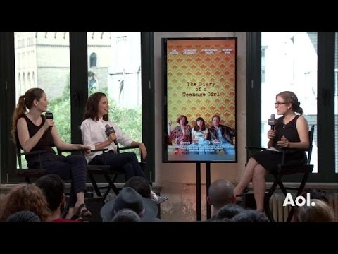 Marielle Heller and Bel Powley on Alexander Skarsgård