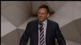 Peter Thiel Republican National Convention FULL Speech 7/21/16 RNC