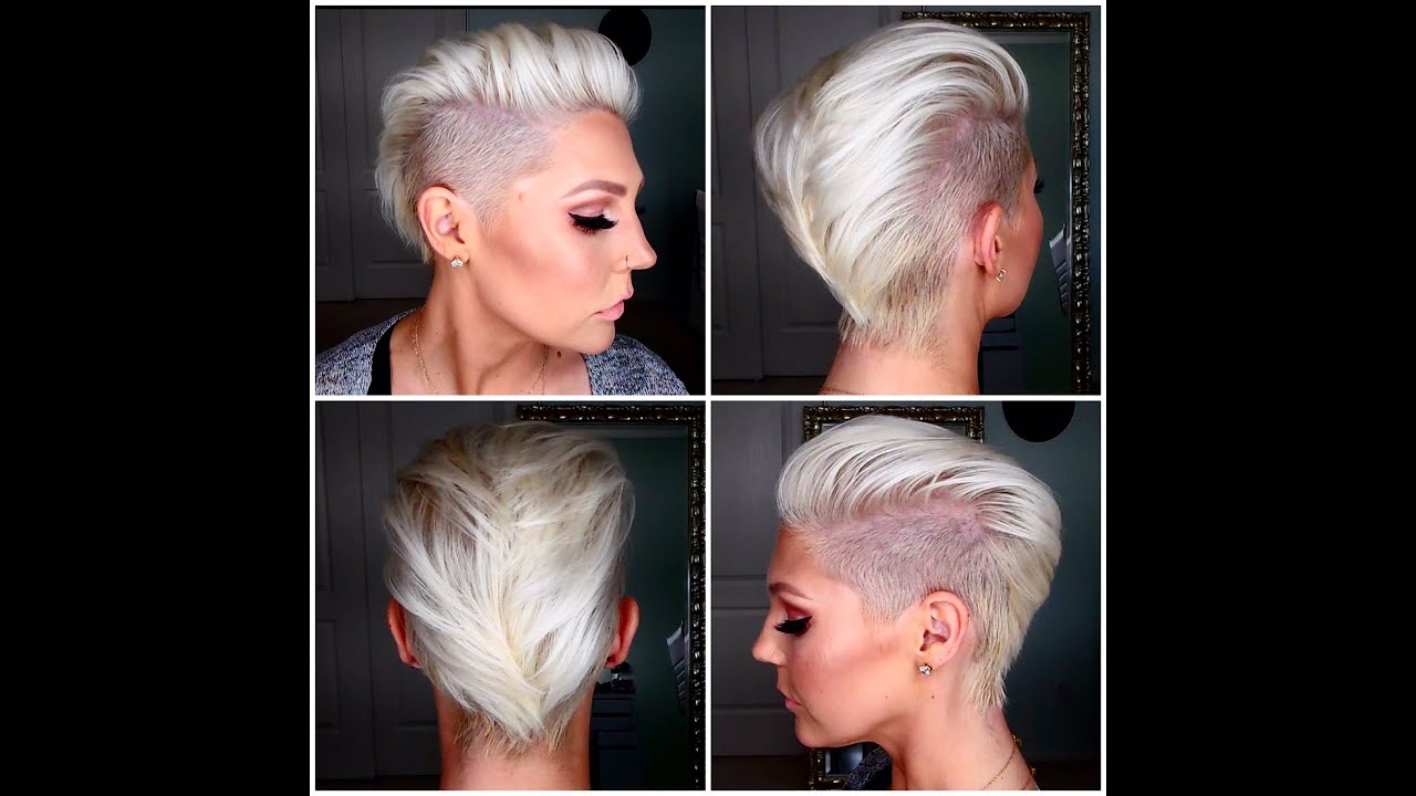 How To Get & Maintain Short Platinum Blonde Hair