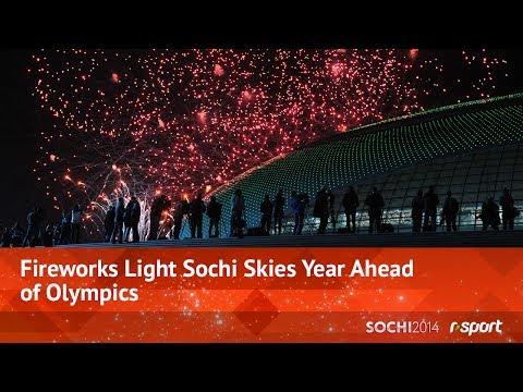 Fireworks Light Sochi Skies Year Ahead of Olympics