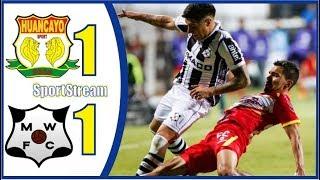 🤩RESUMEN GOLES DEBATE⚽️Sport Huancayo vs Montevideo Wanderers⚽️ Copa Sudamericana 2019