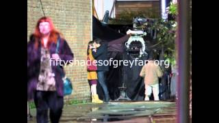dakota johnson and jamie dornan films fifty shades darker on march 23
