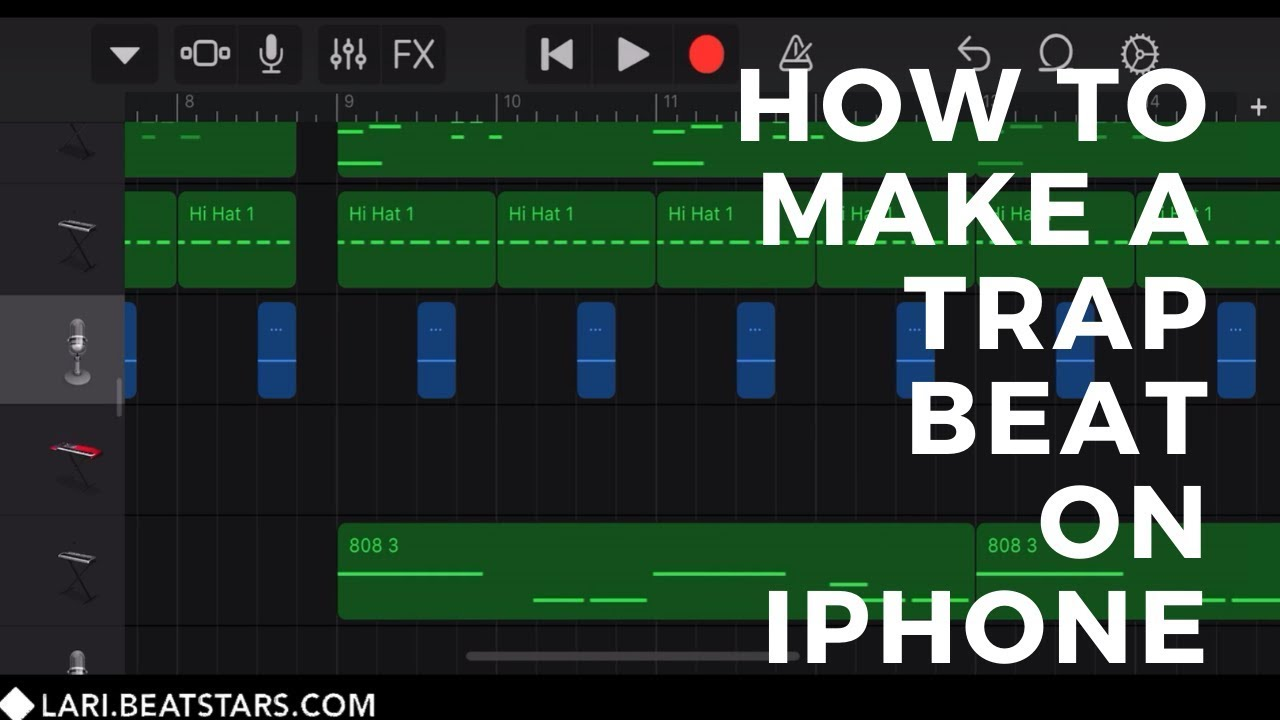 How to Make a Dark Trap Beat on iPhone