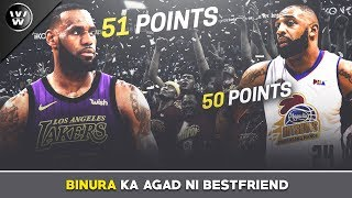 Binura agad ni LeBron James ang RECORD ni Romeo Travis | 50pt vs 51pt Performance