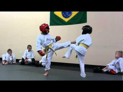 Desmund vs. Gavin Sparring - Modern Martial Arts Center