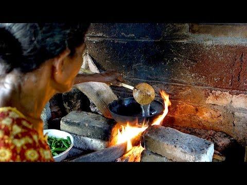Sinhala achcharu // Authentic recipe from Sri Lankan village // Pickled green papaya recipe