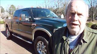 2008 Ford F250 Lariat 4x4 Off Road Test Drive