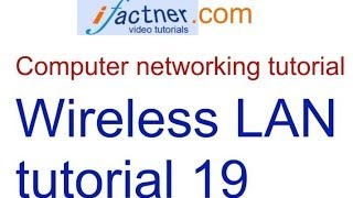 wireless network lan concepts in hindi urdu computer networking tutorial 19 lecture