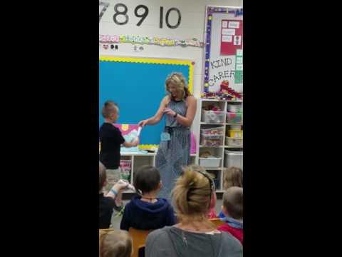 Sarah Milner Elementary school Kindergarten Graduation 2016