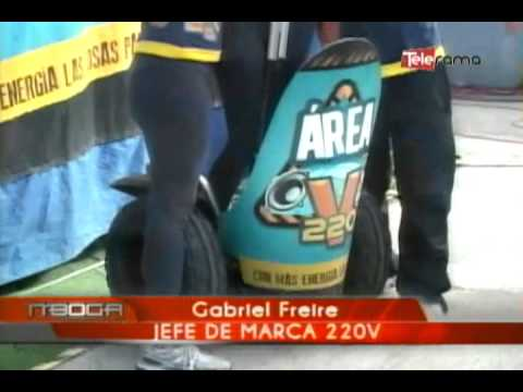 220V realizó en Cuenca Dj Fest