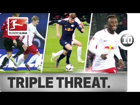 Keita, Forsberg & Werner - Leipzig's Magic Triangle