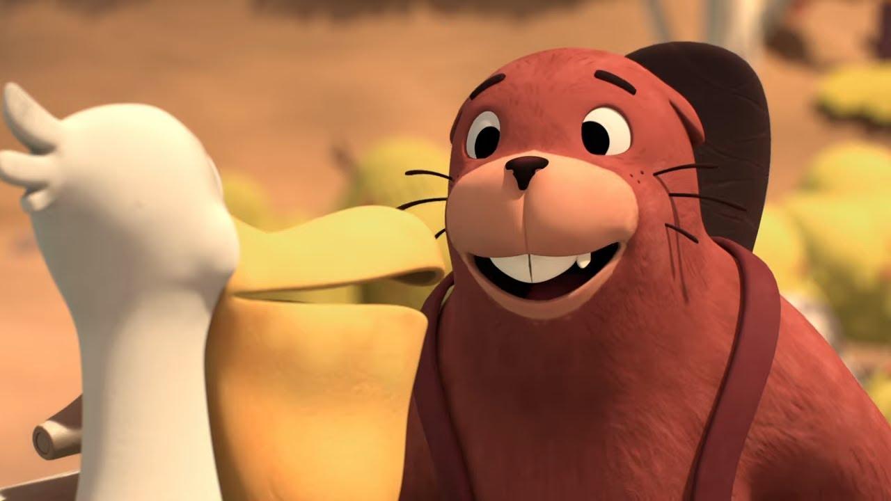 Приключения медвежонка Расмуса — Строители плотины — Новые мультфильмы для детей