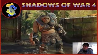 Let's Play Shadows of War EP4 (PAST BROADCAST)