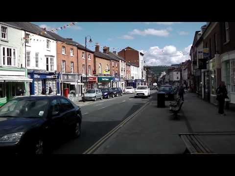 Town Centre, Welshpool, Wales