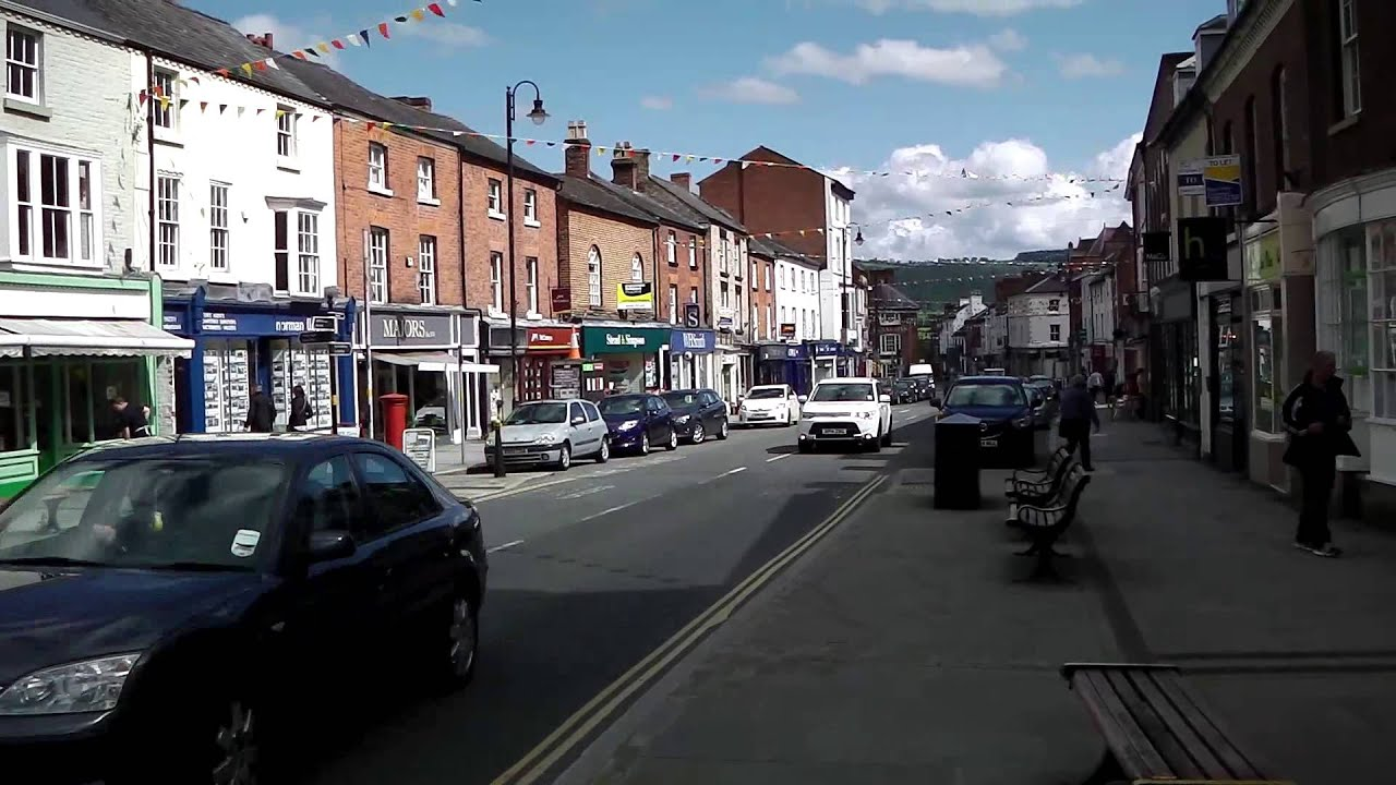 Download Town Centre, Welshpool, Wales