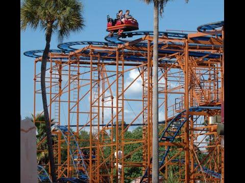 Sand serpent roller coaster at busch gardens tampa youtube - Busch gardens tampa roller coasters ...