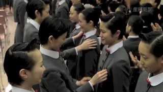 兵庫県宝塚市の宝塚音楽学校で19日、102期生の入学式が行われた。...